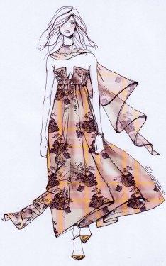 disegno floreal