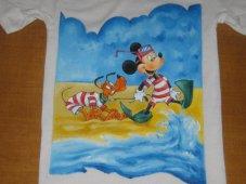 Pippo e Pluto al mare