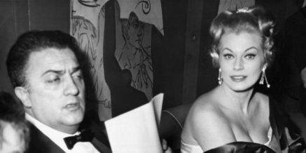 """LaPresse/Publifotoarchivio storicospettacolocinema03-02-1960Anita Ekbergnella foto: Anita Ekberg alla serata di gala per la proiezione del film """"La Dolce Vita"""" di Federico Fellini."""